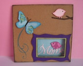 Mother's Day Card - Butterfly and Birds