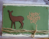Father's Day Card: Deer, Woodsy
