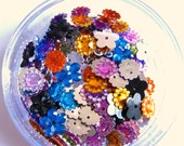 200 mix Sew on Rhinestone Beads