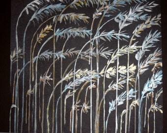 Bent Grass - print