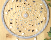 Free Shipping for Christmas--Coupon Code FREESHIPPING-Stormy Waters 7-inch Native American Dreamcatcher