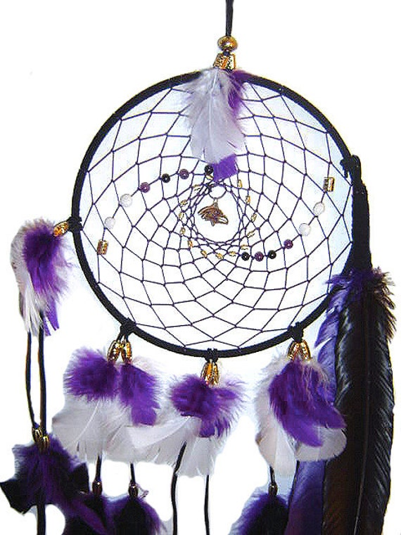 Baltimore Ravens Native American Inspired DreamCatcher 9-inch,dorm room, man cave