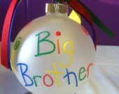 Big Brother Little Brother Ornaments