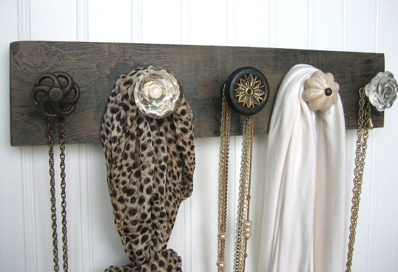 Necklace and Scarf Rack