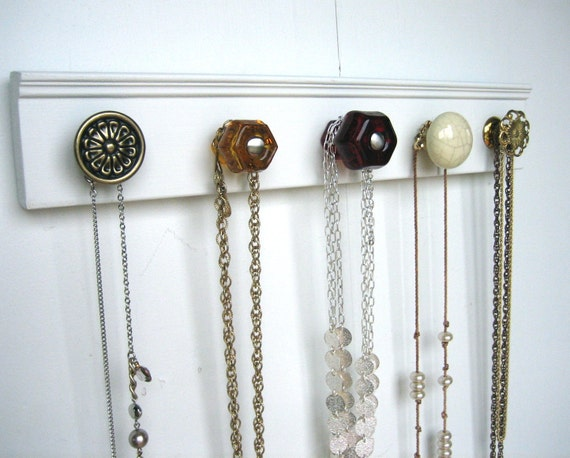 Jewelry Display / Renaissance-Inspired Accessories Rack for Hanging Jewelry