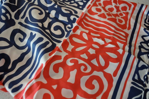 Silk scarf from Casca made in Japan Hand Rolled