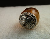 RESERVED FOR LISA  x 20 Honey colored amber copal bead