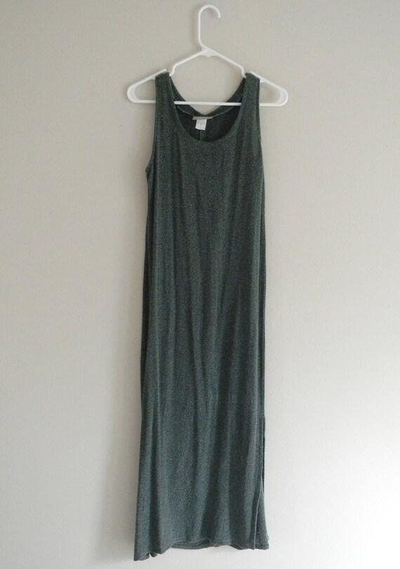 90s Green Maxi Dress