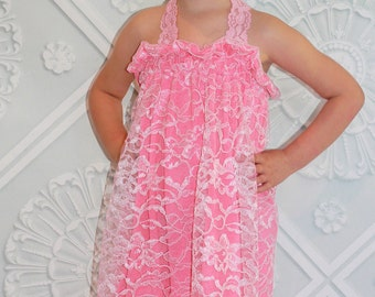 Amelia's Simple lace Sundress PDF Pattern sizes 6-12 months to size 8