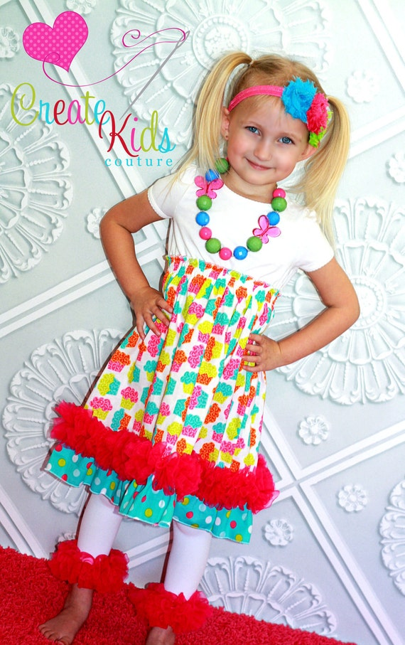 Tiana's Petti Party Dress PDF Pattern size size 18 months to size 6