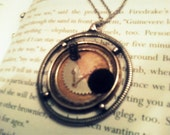 Half-Past Insane (Custom, One of a Kind Steampunk Necklace.)