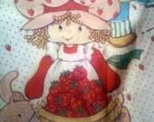 Vintage Strawberry Shortcake Sheets. Twin Size