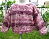 Girls pullover sweater