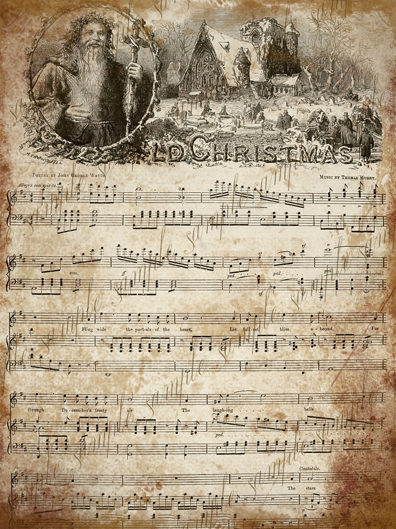 This is a picture of Stupendous Vintage Sheet Music Printable