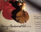 Protection runic pendant ,Misteltoe, fairy, elf,pagan,magic,viking,norse