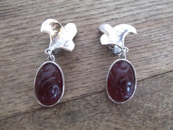 1960s Earrings Gres Paris by Ikou