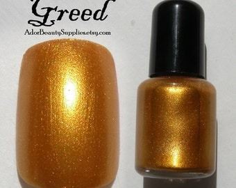 Greed Nail Polish 8ml Vegan - 7 Deadly Sins