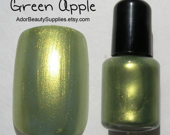 Green Apple Nail Polish 8 ml Vegan Non-Toxic