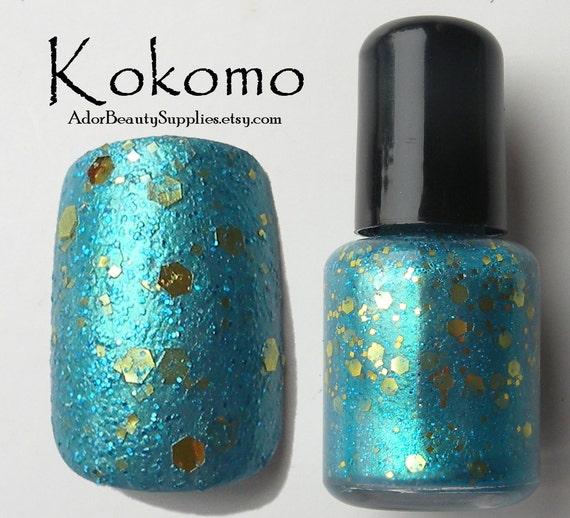 Kokomo Nail Polish 8ml Vegan - Glitter Polish