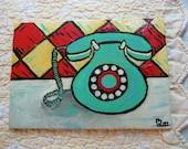 Retro Telephone- Original Painting