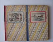 1946   2 book set Alice in wonderland/ Through the looking Glass
