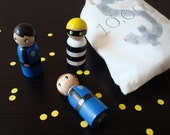 Cops and Robber doll set