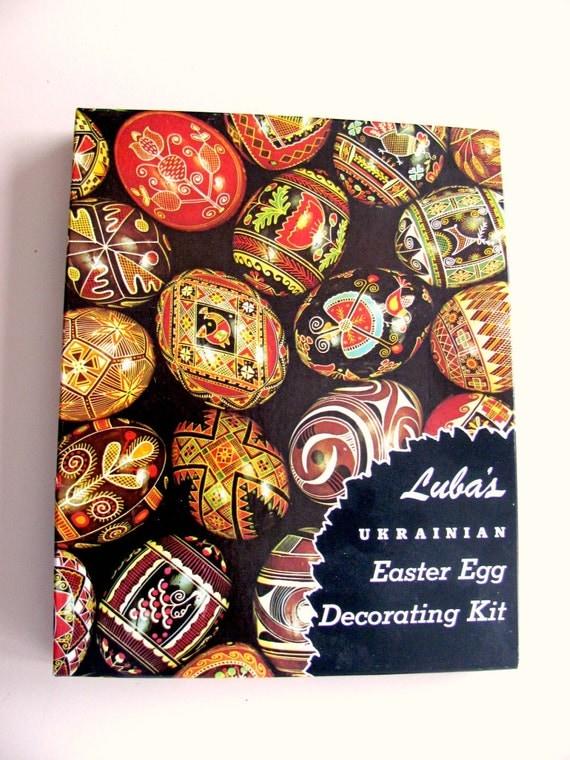 Luba's Ukrainian Easter Egg Decorating Kit