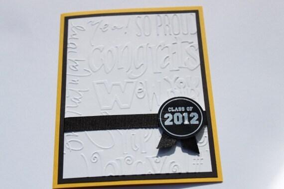 Graduation Card- Class of 2012