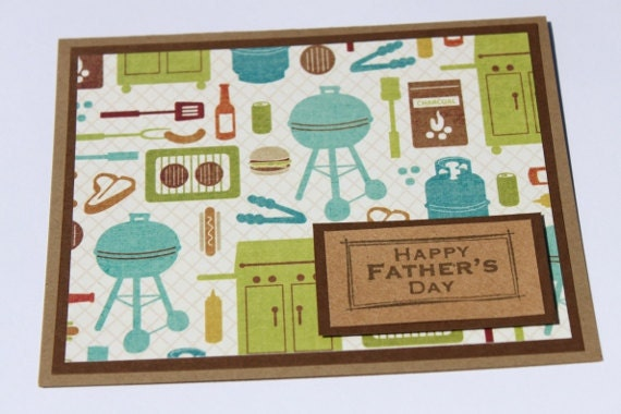 Fathers Day Card- Grilling, BBQ