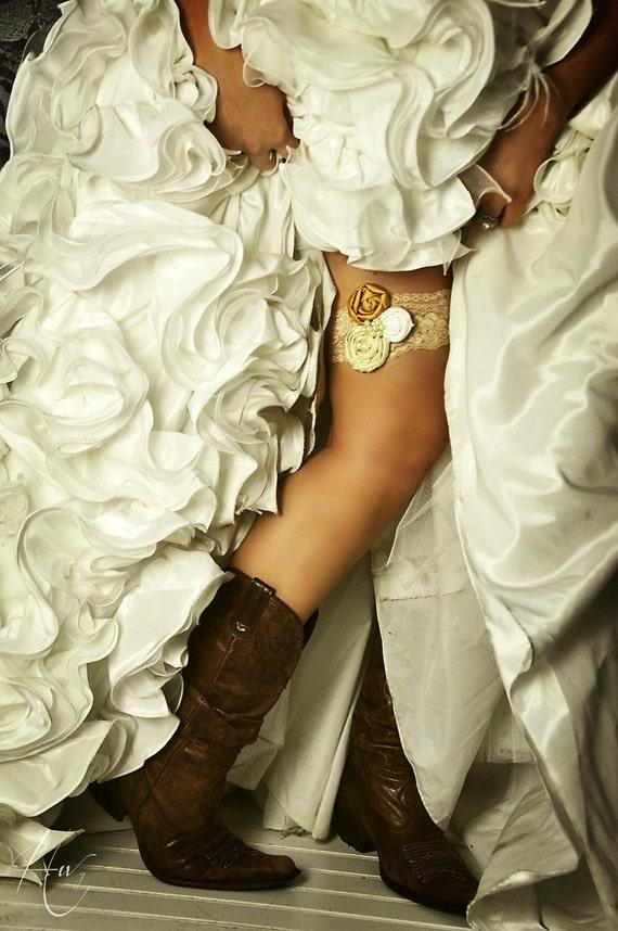 Vintage Bridal Garter 66