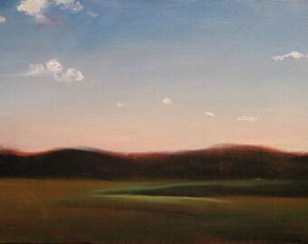 fields, open sky, quincy