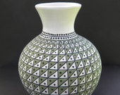 untitled, handbuilt, handcoiled, handpainted pottery