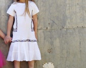 Calypso Maiden - Girls Dress - Size 5 - Handmade & Upcycled