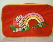 Vintage 80s Retro Strawberry Shortcake Suitcase Christmas Etsy Sale