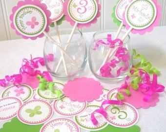 Butterfly Cupcake Topper KIT you assemble (18 pcs)