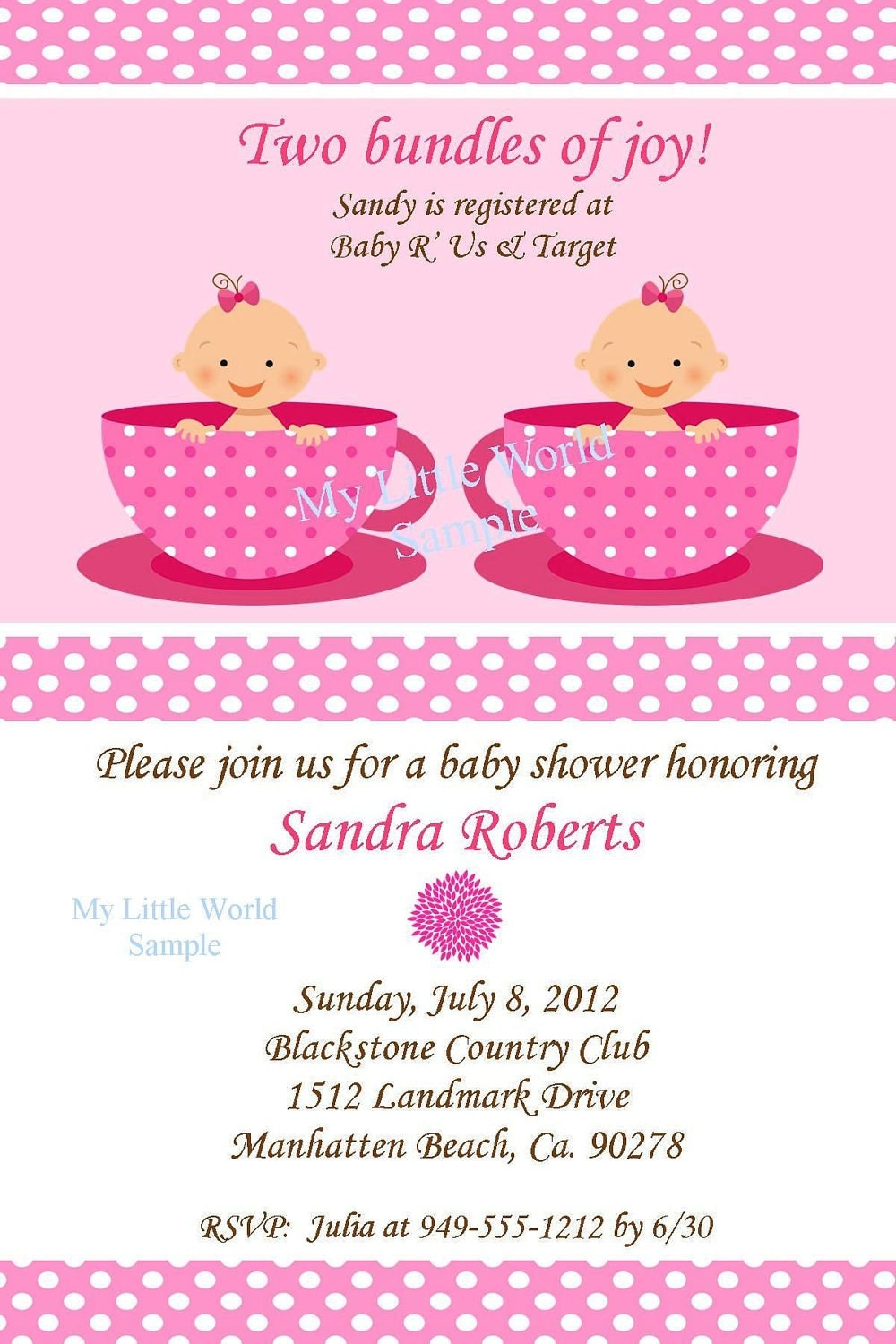 Exceptional Twin Invitation Twin Birthday Invitations Twin Baby Shower. Twin Invitation  Twin Birthday Invitations Twin Baby Shower.