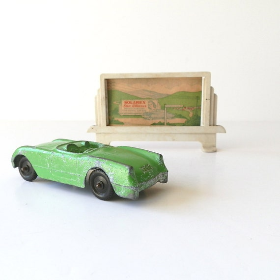 Vintage Corvette Convertible Toy Car Tootsie Toy Chevy Chevrolet Sports Car