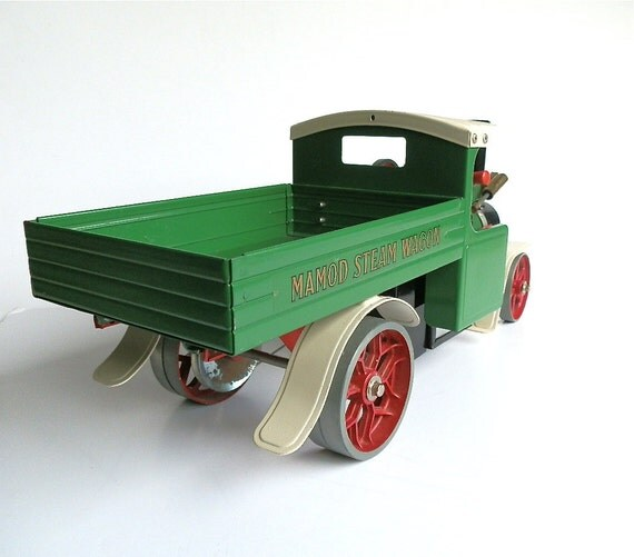 Vintage Toy Truck Steam Wagon SW1 Steam Powered Mamod