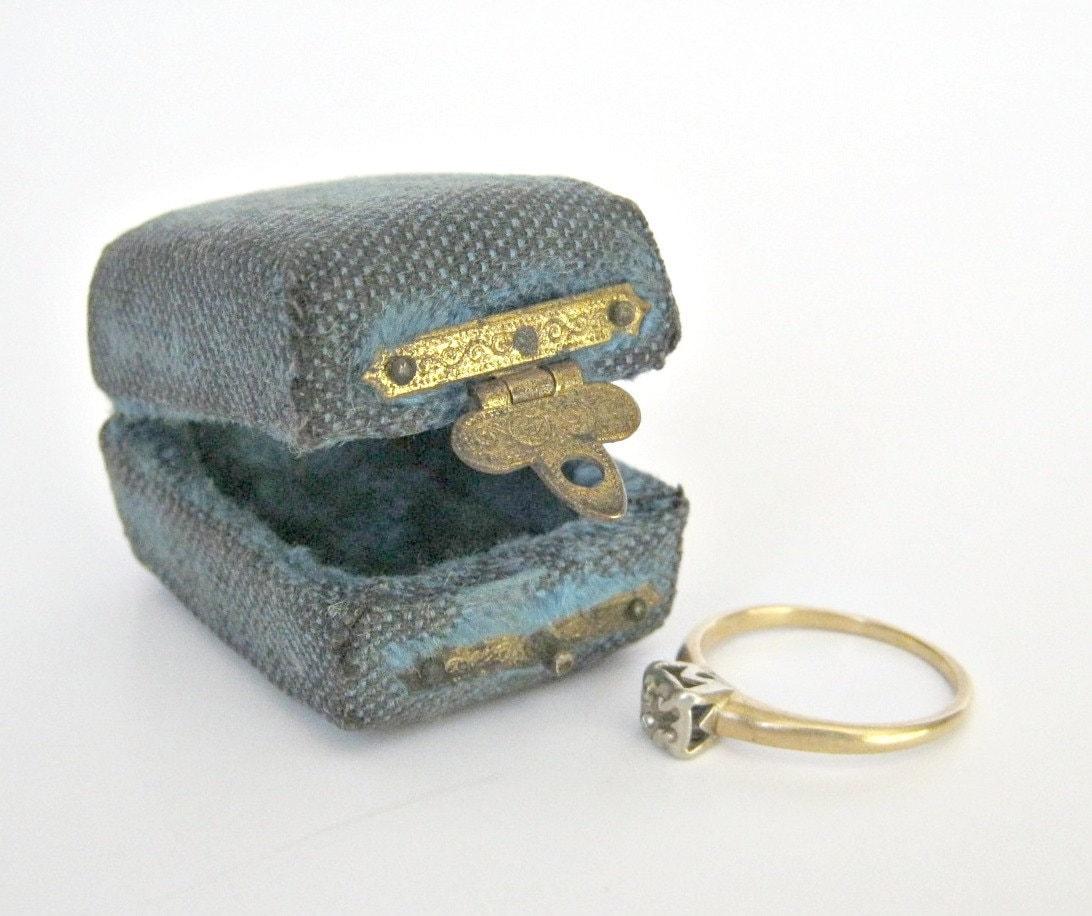antique vintage ring box by dairyfarmantiques on etsy
