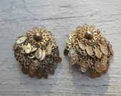 Golden Statement Earrings