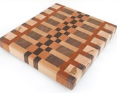 Medium End Grain Butcher's Block - Handcrafted, handmade