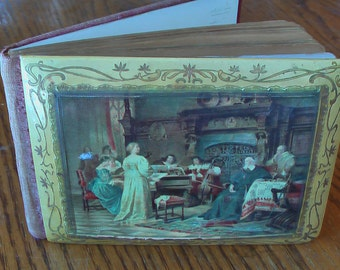 Very Rare Vintage Autograph Book From Cambridge, MA School Early 1099's