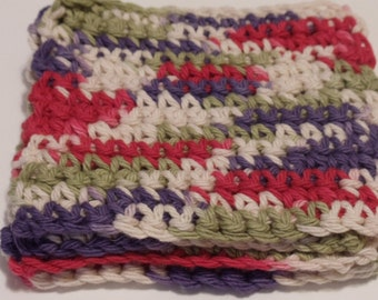 Crocheted Coasters Trivets - Field of Dreams