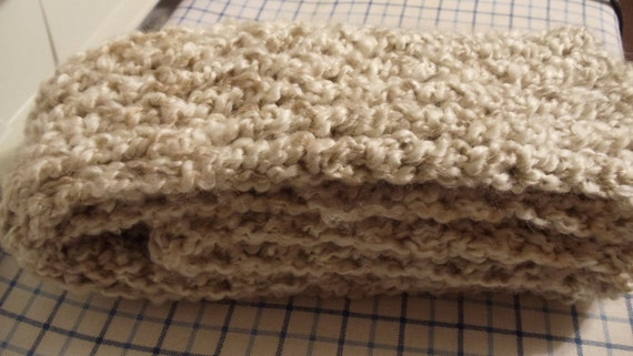 """Pearls Knitted Scarf 60"""""""