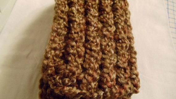 "Barley Knitted Scarf 60"""