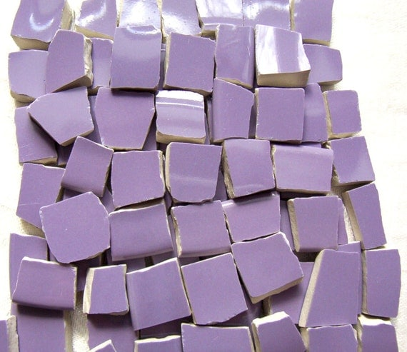 Mosaic Tiles Broken China - A Passion for PURPLE