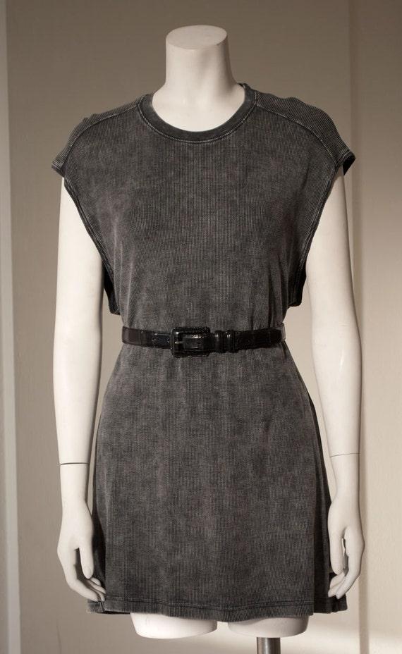 Sleeveless T Mini Dress