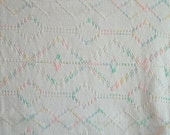 "Baby Blanket Swedish Weave 46"" x 50"" Blanket Throw Lap - 706"
