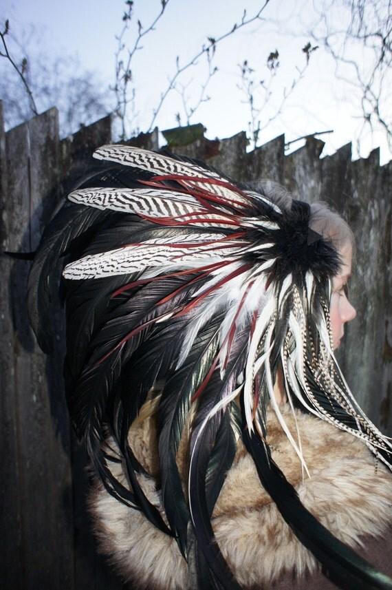 Feather Headdress - Osaka Sun Feather Headdress