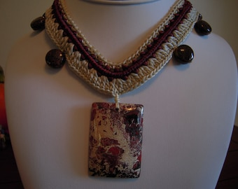 Absorb Negative Energy by wearing the...Breccciated Jasper From Brazil...ON SALE